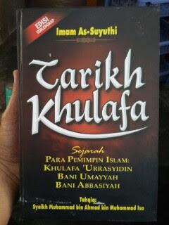 Buku Tarikh Khulafa Sejarah Para Pemimpin Islam Cover