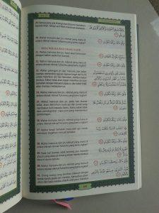 Al-Qur'an Tarjamah Tafsiriyah Memahami Al-Quran Lebih Mudah isi