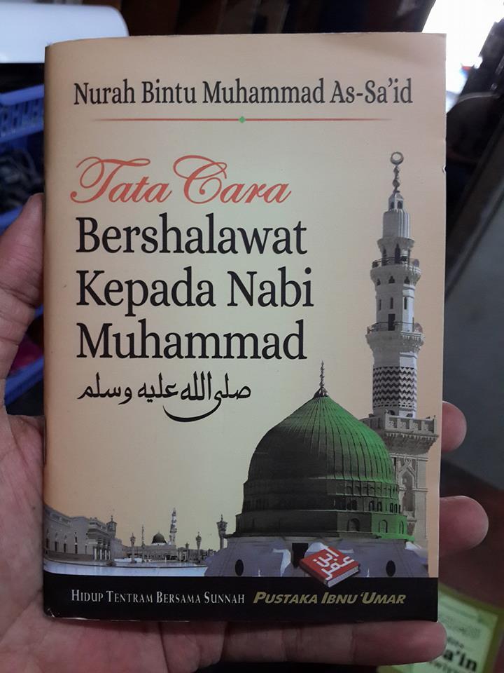 Buku Saku Tata Cara Bershalawat Kepada Nabi Muhammad Cover