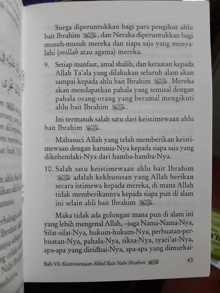 Buku Saku Tata Cara Bershalawat Kepada Nabi Muhammad Isi