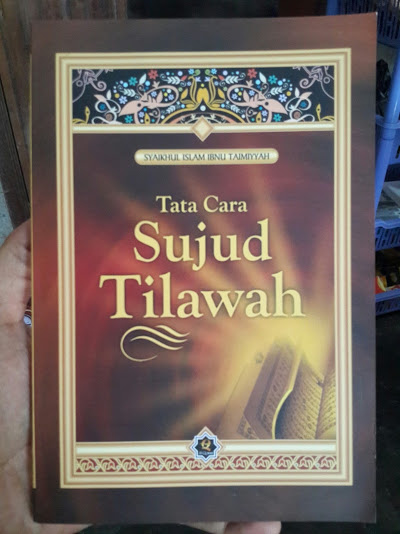 Buku Tata Cara Sujud Tilawah Cover