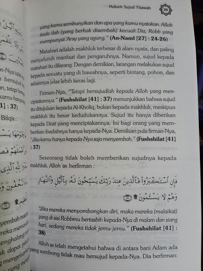Buku Tata Cara Sujud Tilawah Isi