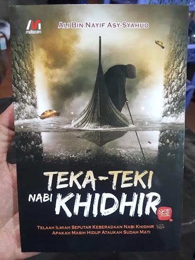 Buku Teka-Teki Nabi Khidhir Telaah Ilmiah Nabi Khidhir Cover