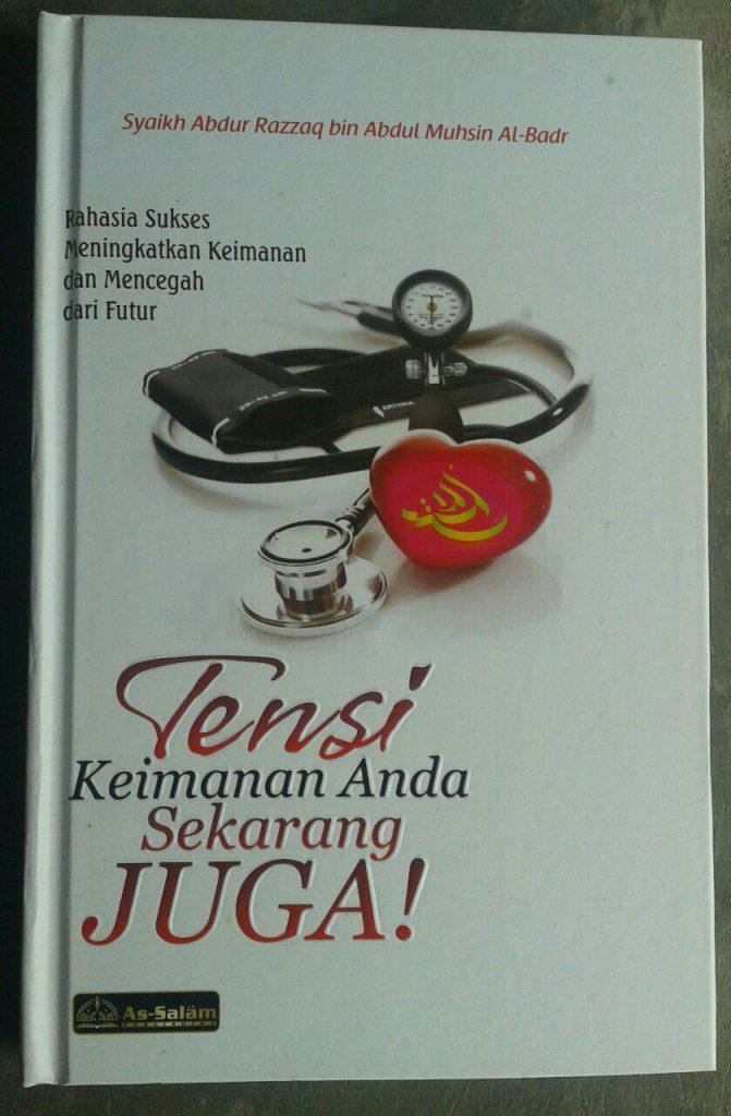 Buku Tensi Keimanan Anda Sekarang Juga cover 2
