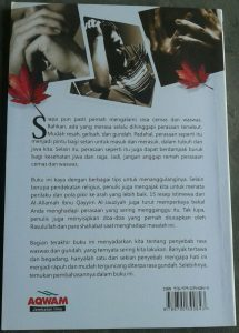 Buku Terapi Kecemasan Tips Praktis Doa Pengusir Rasa Waswas cover