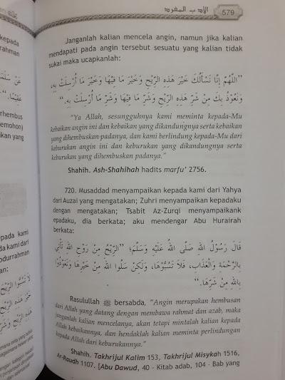Buku Terjemah Al-Adabul Mufrod Kitab Akhlak Muslim Isi