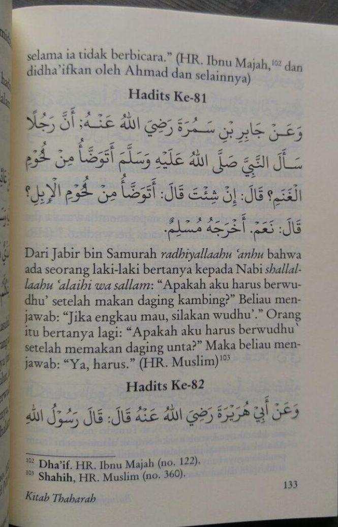 Buku Terjemah Bulughul Maram 1 Set 4 Jilid isi 2