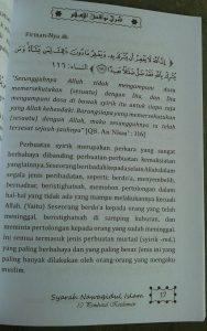 Buku Terjemah Syarah Nawaqidul Islam 10 Pembatal Keislaman isi 2