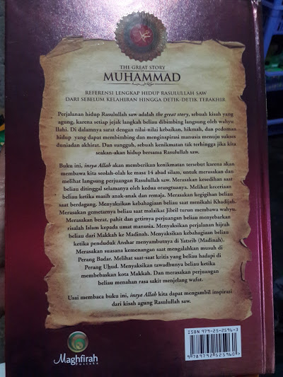 Buku The Great Story Of Muhammad Cover 2