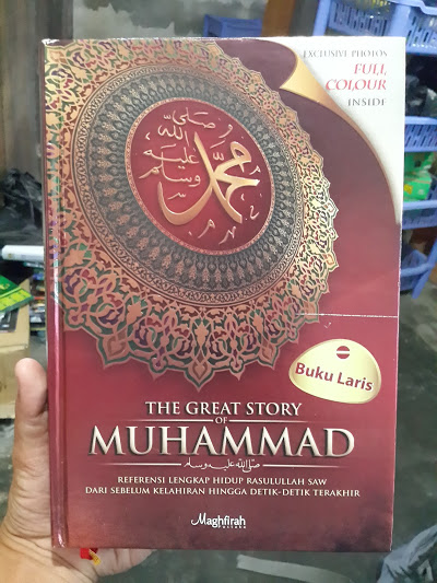 Buku The Great Story Of Muhammad Cover