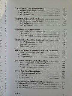 Buku The Miracle Of Asmaul Husna Daftar Isi