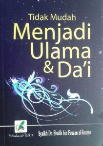 Buku Saku Tidak Mudah Menjadi Ulama & Da'i cover 2