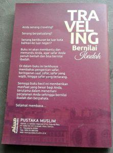 Buku Saku Traveling Bernilai Ibadah cover 2