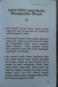 Buku Saku Traveling Bernilai Ibadah isi 2
