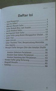 Buku Saku Traveling Bernilai Ibadah isi 4
