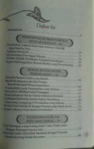 Buku Tuntunan Quran Sunah Keluarga Sakinah Mawadah Wa Rahmah isi
