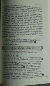 Buku Tuntunan Quran Sunah Keluarga Sakinah Mawadah Wa Rahmah isi 3