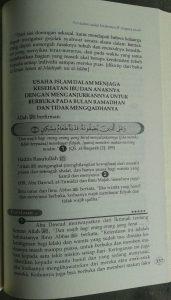 Buku Tuntunan Quran Sunah Keluarga Sakinah Mawadah Wa Rahmah isi 5