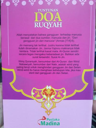 Buku Saku Tuntunan Doa Ruqyah Cover 2