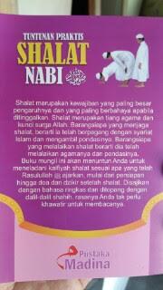 Buku Saku Tuntunan Praktis Shalat Nabi Cover 2