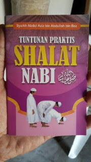 Buku Saku Tuntunan Praktis Shalat Nabi Cover
