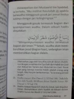 Buku Saku Tuntunan Praktis Wudhu Nabi Isi 2