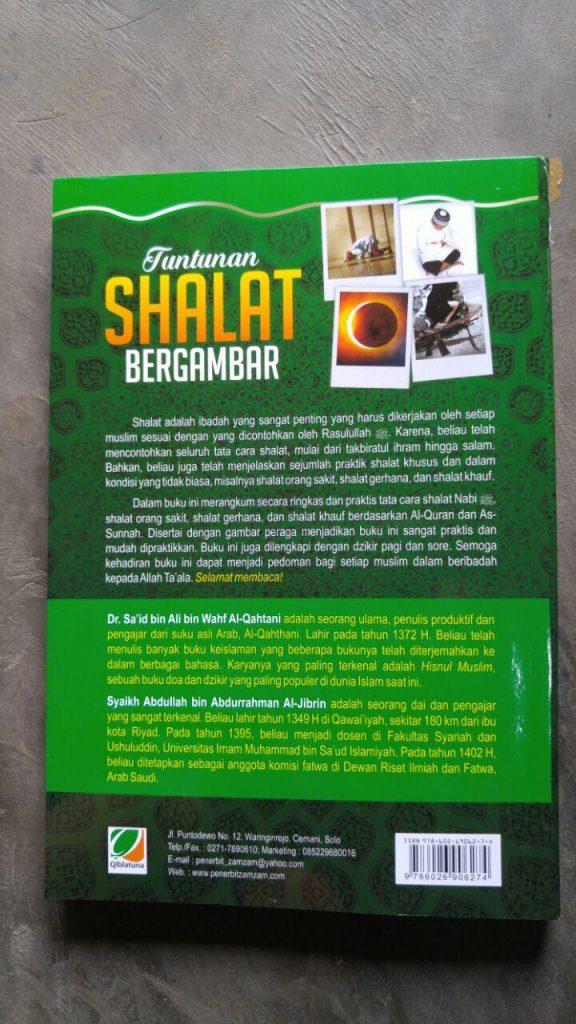 Buku Tuntunan Shalat Bergambar Tata Cara Shalat Gerhana cover 2