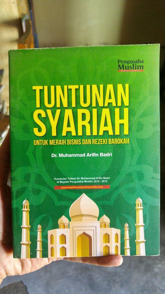 Buku Tuntunan Syariah Untuk Meraih Bisnis Dan Rezeki Barokah cover