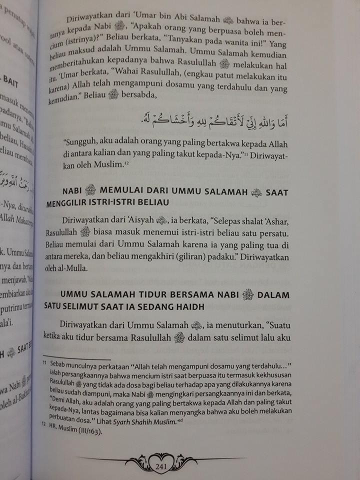 Buku Ummahatul Mukminin Biografi Istri-Istri Nabi Isi
