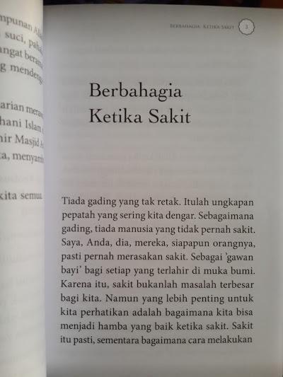 Buku Saku Untukmu Yang Sedang Sakit Isi