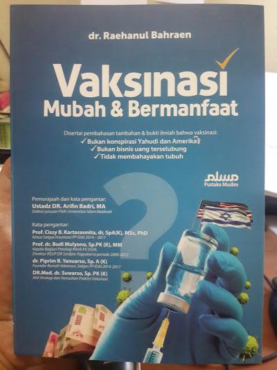 Buku Vaksinasi Mubah Dan Bermanfaat Cover