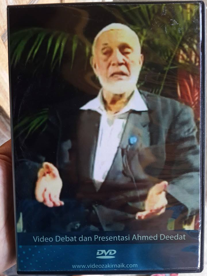 DVD Kumpulan Ahmed Deedat Plus Bonus