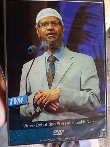 DVD Kumpulan Zakir Naik Cover Plus Bonus