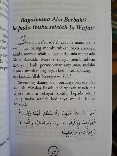 Buku Wahai Ibu Maafkan Anakmu Isi