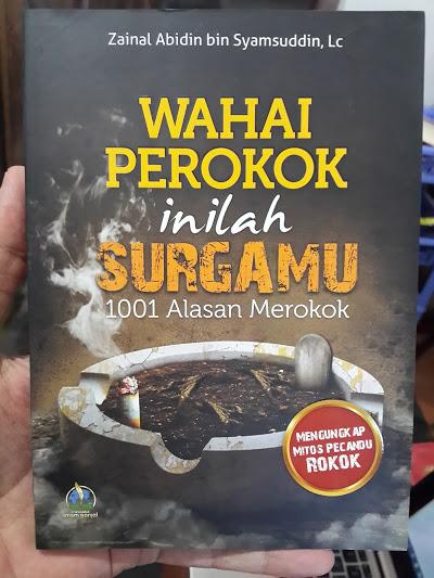 Buku Wahai Perokok Inilah Surgamu 1001 Alasan Merokok Cover