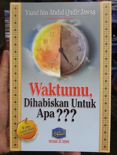 Buku Waktumu Dihabiskan Untuk Apa? Cover