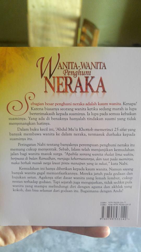 Buku Wanita-Wanita Penghuni Neraka cover 2