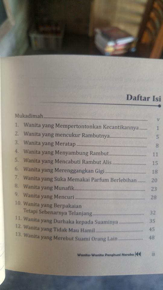 Buku Wanita-Wanita Penghuni Neraka isi 2