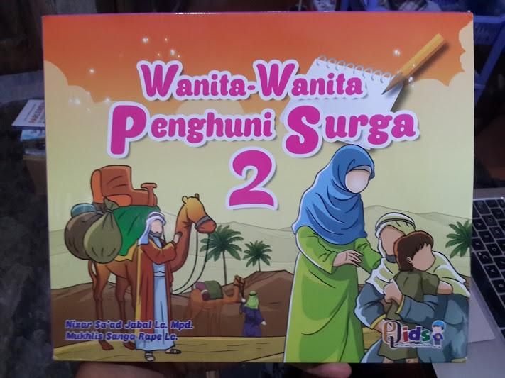 Buku Anak Wanita Wanita Penghuni Surga 1 Set 6 Jilid Seri 2 Set