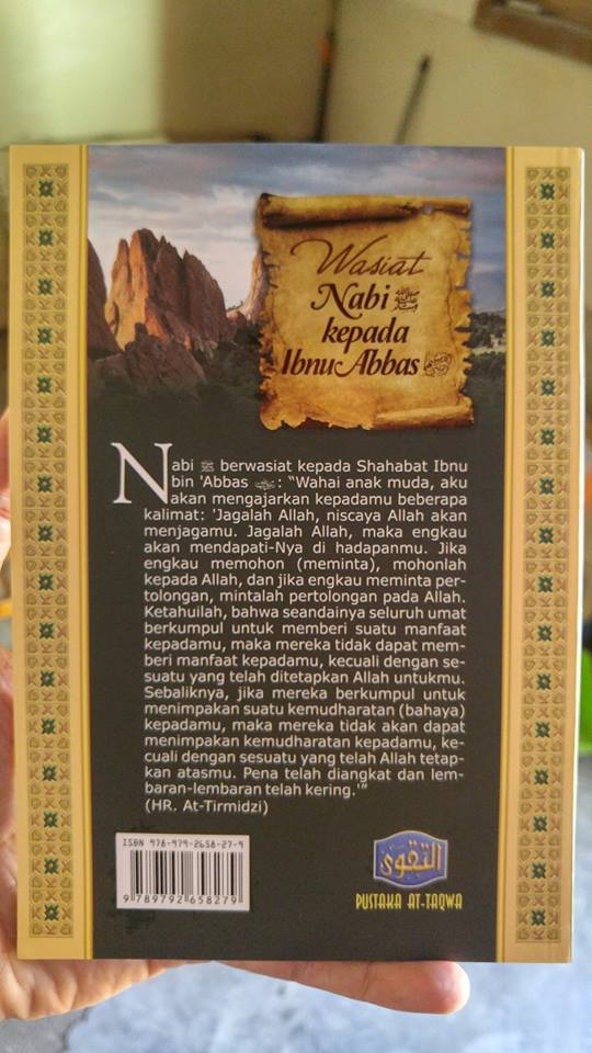wasiat nabi kepada ibnu abbas buku cover 2