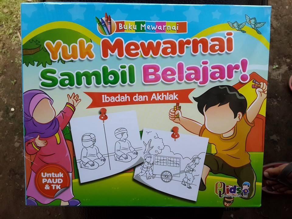 Buku Anak Yuk Mewarnai Sambil Belajar Cover