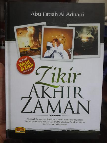 Buku Zikir Akhir Zaman Cover