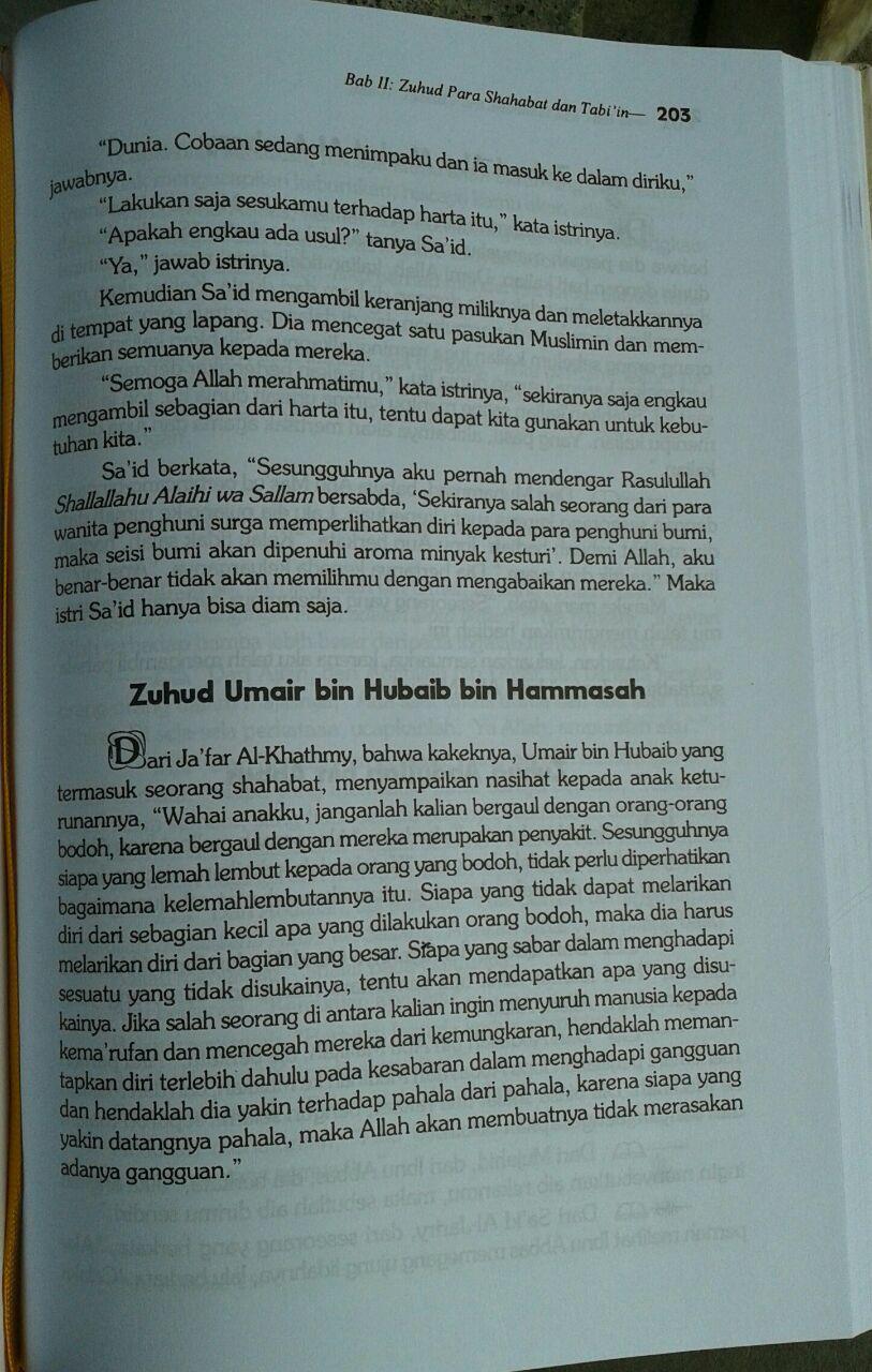 Buku Zuhud Cahaya Qalbu isi 4