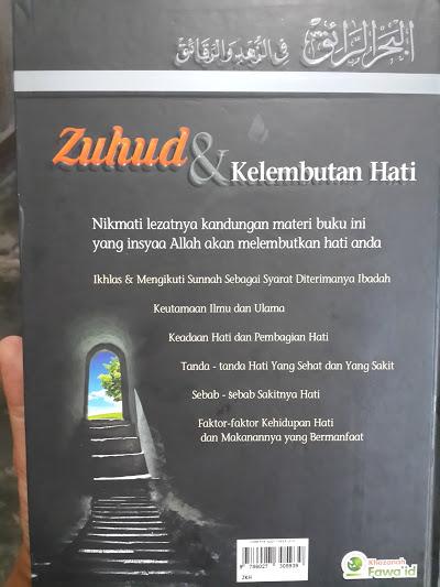 Buku Zuhud Dan Kelembutan Hati Cover 2