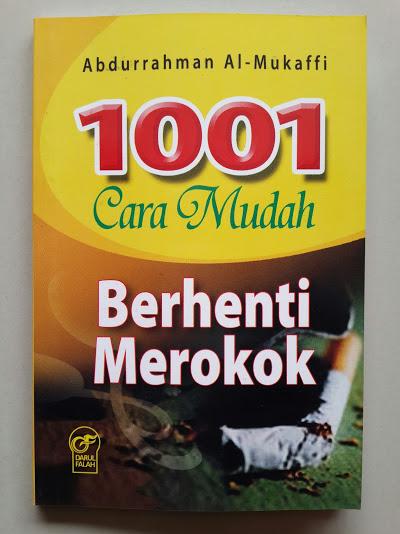 Buku Saku 1001 Cara Mudah Berhenti Merokok Cover