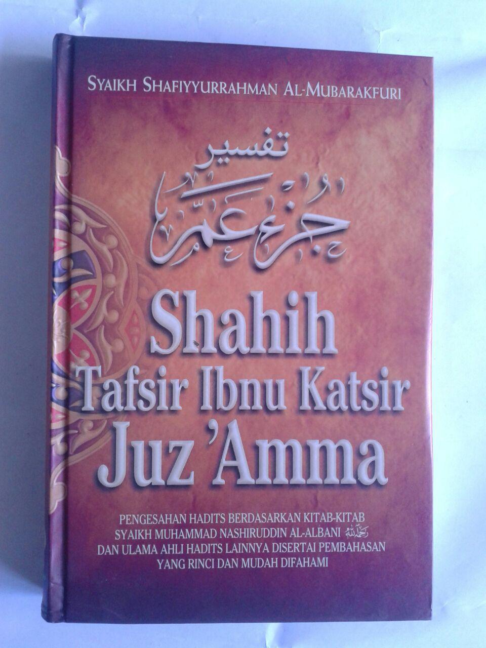 Buku Shahih Tafsir Ibnu Katsir Juz 'Amma cover