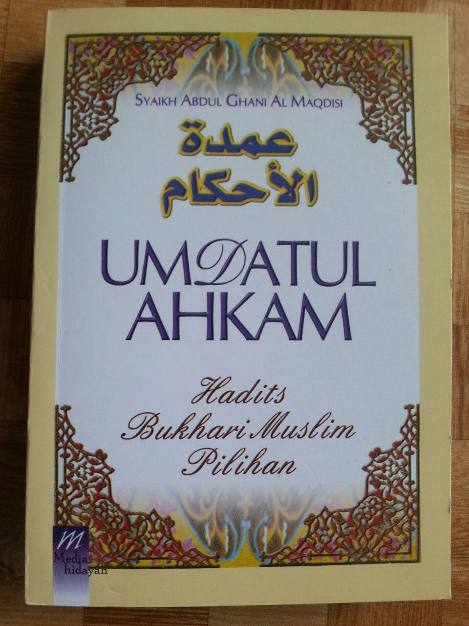 Buku Terjemah Umdatul Ahkam Ukuran A5 cover 2