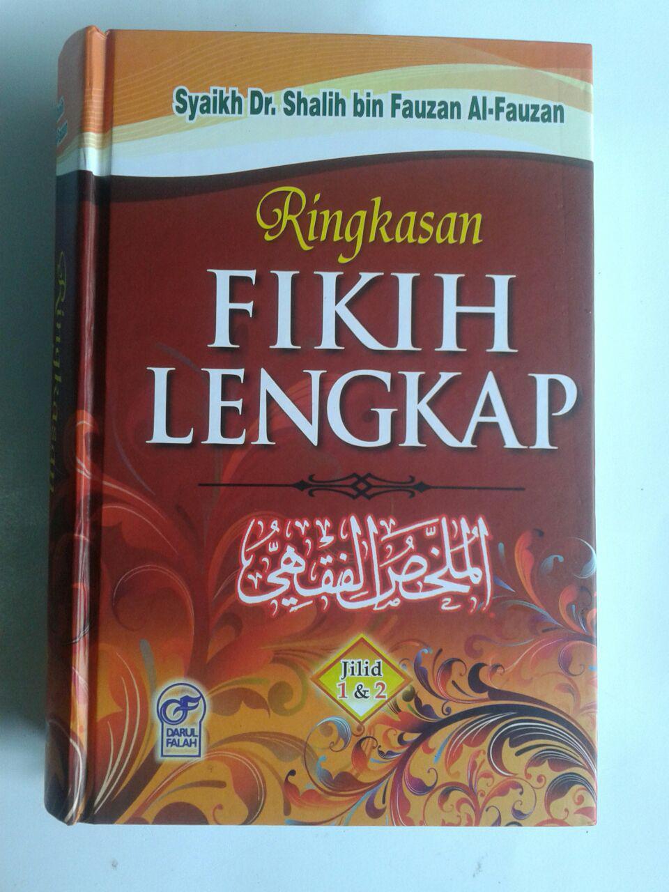 Buku Ringkasan Fikih Lengkap cover 3
