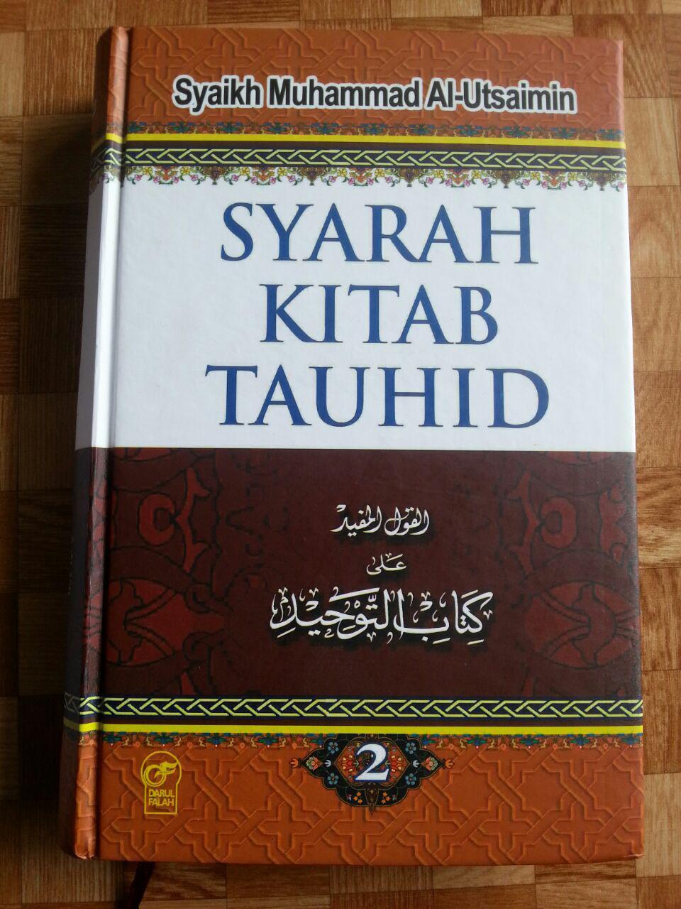 Buku Syarah Kitab Tauhid 1 Set 2 Jilid cover 2