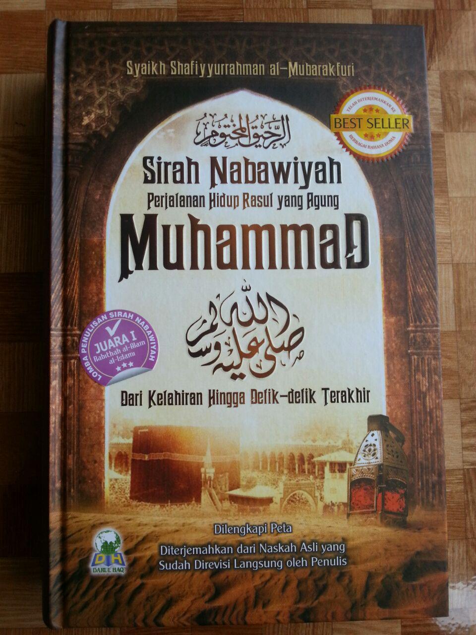 Buku Perjalanan Hidup Rasul Yang Agung Muhammad cover 2